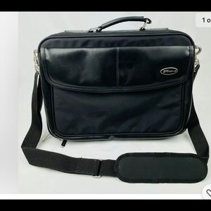 Targus Laptop Bag Black Briefcase w/ shoulderstrap